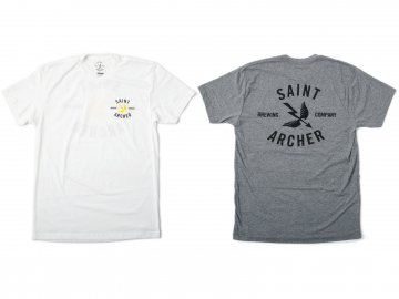 SAINT ARCHER BREWING CO. [ Classic Brew Back S/S Tee ] 2 COLORS