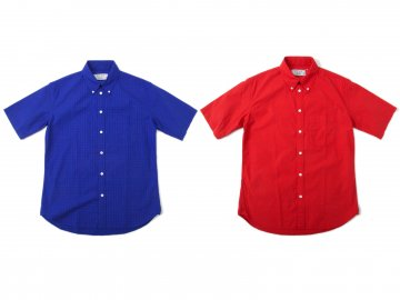 Nisus Hotel [ S/S BD Check Shirts ] 2 COLORS