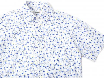 INTERFACE [ FLAMINGO S/S SHIRTS ] 2 COLORS