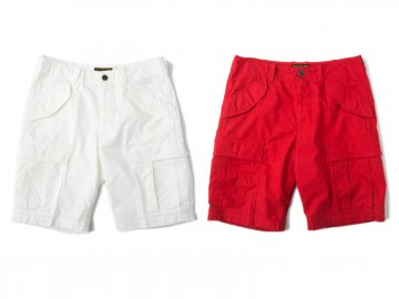 68&BROTHERS [ Heri Crew Cargo Shorts ] 2 COLORS
