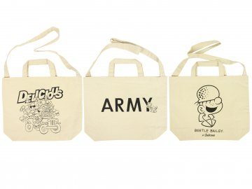 Beetle Bailey for Delicious [ Tote bag ] 3 STYLES