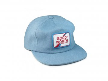 Good Worth & Co. [ Logo Patch Snapback Cap ]