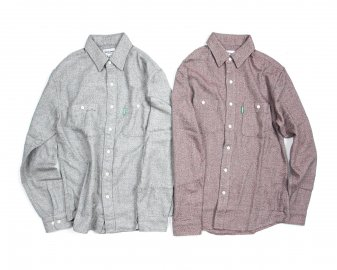 Delicious [ Solid Flannel Shirts ] 2 COLORS
