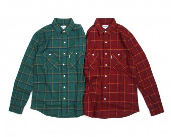 Delicious [ Check Flannel Shirts ] 2 COLORS
