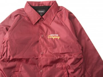 BRIXTON [ DITMAR Windbreaker ] BURGUNDY【40% OFF】