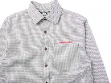 4WHEELPIPE [ Micro Houndstooth Shirts ]