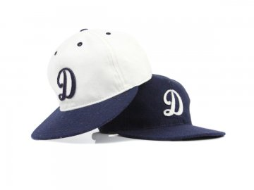 Delicious by Ebbets Field Flannels [ Classic Logo Wool Cap ] 2 COLORS