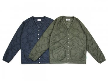 Delicious [ Military Insulated Cardigan ] 2 COLORS【40% OFF】