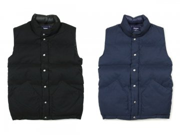 Delicious by Crescent Down Works [ Down Vest ] 2 COLORS
