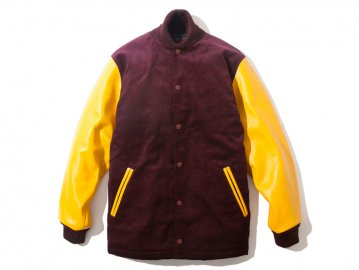 68&BROTHERS [ Varsity Jacket Leather Sleeve ]【30% OFF】