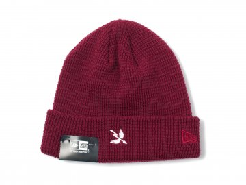 SAINT ARCHER BREWING CO. [ WING&ARROW Beanie ] CRIMSON