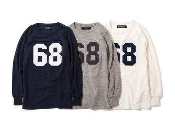 68&BROTHERS [ L/S Football