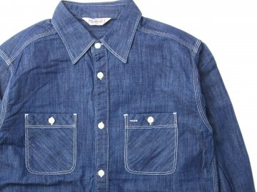FIVE BROTHER [ Denim Work Shirts ] BLUE