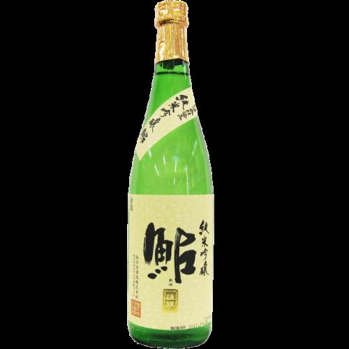 鮎正宗 純米吟醸 鮎 「鮎」 金ラベル 720ml