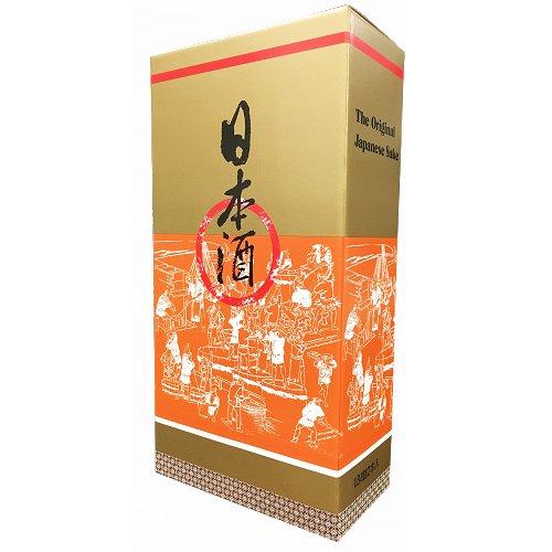 清酒1.8L 2本入れ化粧箱