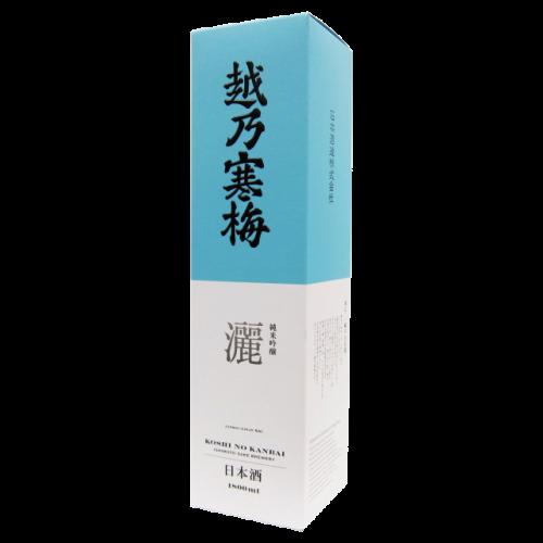 越乃寒梅 純米吟醸 灑 1.8L用の1本入り化粧箱(箱のみ)