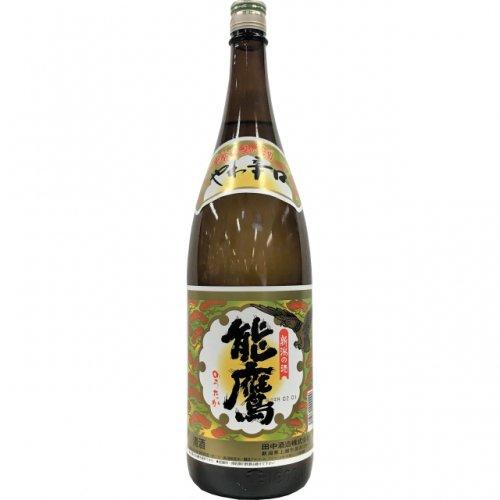 能鷹 金印 やわ辛口 普通酒 1.8L