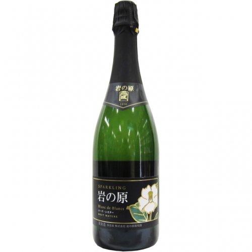 岩の原スパークリングワイン ブラン・ド・ブラン ローズ・シオター 750ml