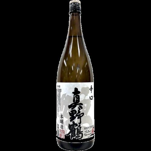 真野鶴 辛口 鶴 本醸造 1.8L