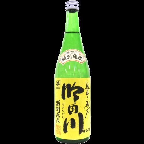 吟田川 特別純米酒 720ml