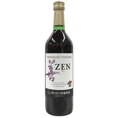 岩の原ワイン 善 赤 720ml