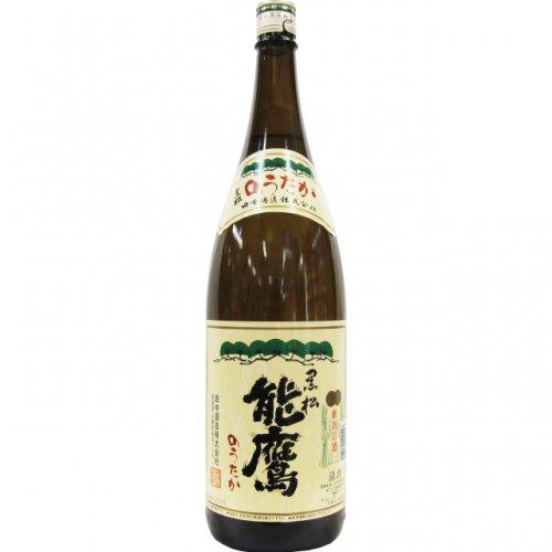 能鷹 黒松 本醸造 1.8L