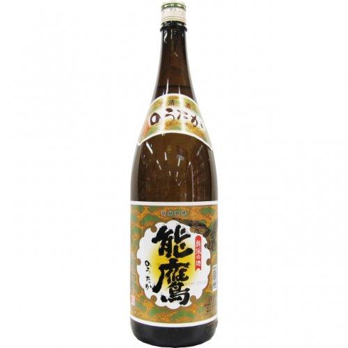 能鷹 金印 普通酒 1.8L