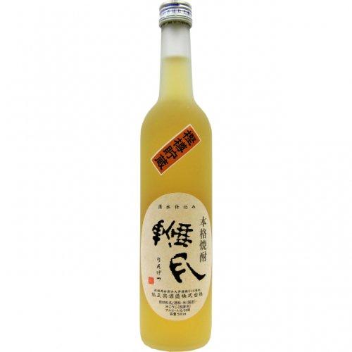 鮎正宗 本格焼酎 輪月(りんげつ)樫樽貯蔵 500ml