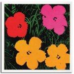【ポップアート 名画】アンディ ウォーホル 花 赤・ピンク・黄色2輪(1967)