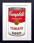 【ポップアート 名画】アンディ ウォーホル キャンベルのスープ缶 トマト