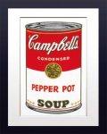 【ポップアート 名画】アンディ ウォーホル キャンベルのスープ缶 ペッパーポット