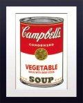 【ポップアート 名画】アンディ ウォーホル キャンベルのスープ缶 ベジタブル