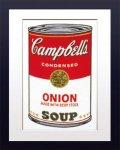 【ポップアート 名画】アンディ ウォーホル キャンベルのスープ缶 オニオン