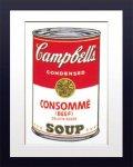 【ポップアート 名画】アンディ ウォーホル キャンベルのスープ缶 コンソメ