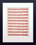 【ポップアート 名画】アンディ ウォーホル 100個のスープ缶(1962)