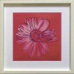 【ポップアート 名画】アンディ ウォーホル  デージー 深紅とピンク(1982)