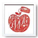 【アートフレーム】サインフレーム りんご【ゆうパケット】