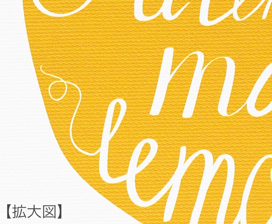 【アートフレーム】サインフレーム レモン【ゆうパケット】