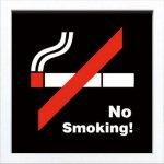 【アートフレーム】サインフレーム 喫煙禁止【ゆうパケット】