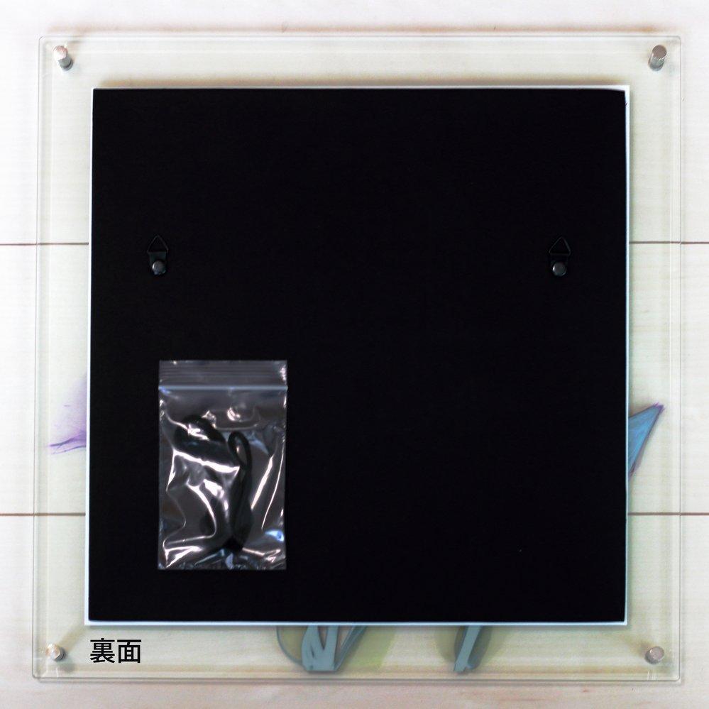 【レントゲンアート】X RAY ガラス アート「レッド ハイビスカス(Mサイズ)」