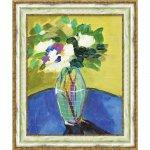 【絵画】ソニア ミラー「ブライト フローラル1」