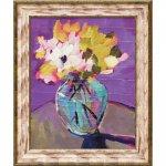 【絵画】ソニア ミラー「ブライト フローラル2」