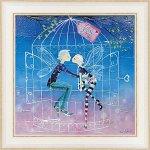 【絵画】ロリー マクファール「ラブ バード」