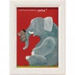 【絵画】【ゆうパケット】武内 祐人「コアラとゾウ」