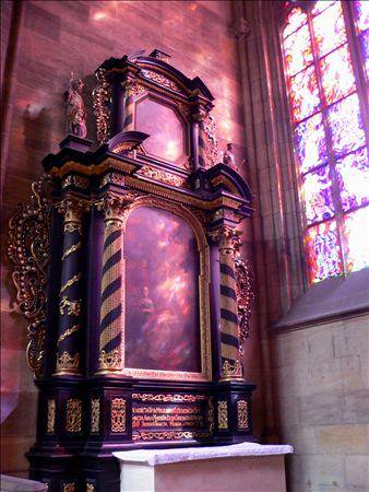 《アートフォト》世界遺産 聖ヴィート大聖堂の祭壇(レンタル対象)