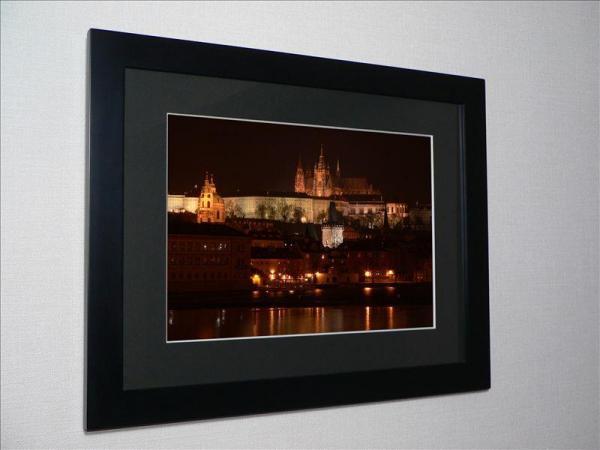 世界遺産 プラハ城の夜景