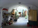 《アートフォト》世界遺産 チェスキー・クルムロフ 喫茶店(レンタル対象)