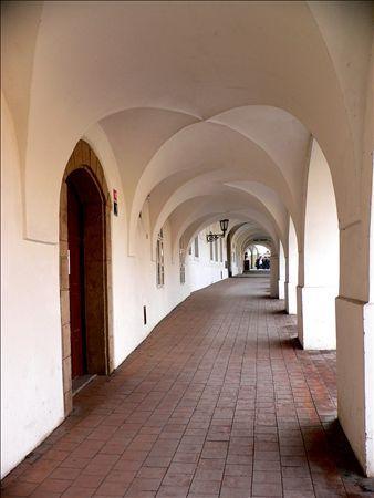 《アートフォト》世界遺産 プラハ旧市街地区 白壁の径(レンタル対象)