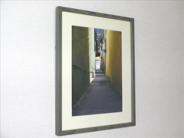 《アートフォト》世界遺産 プラハ旧市街地区の小径(レンタル対象)
