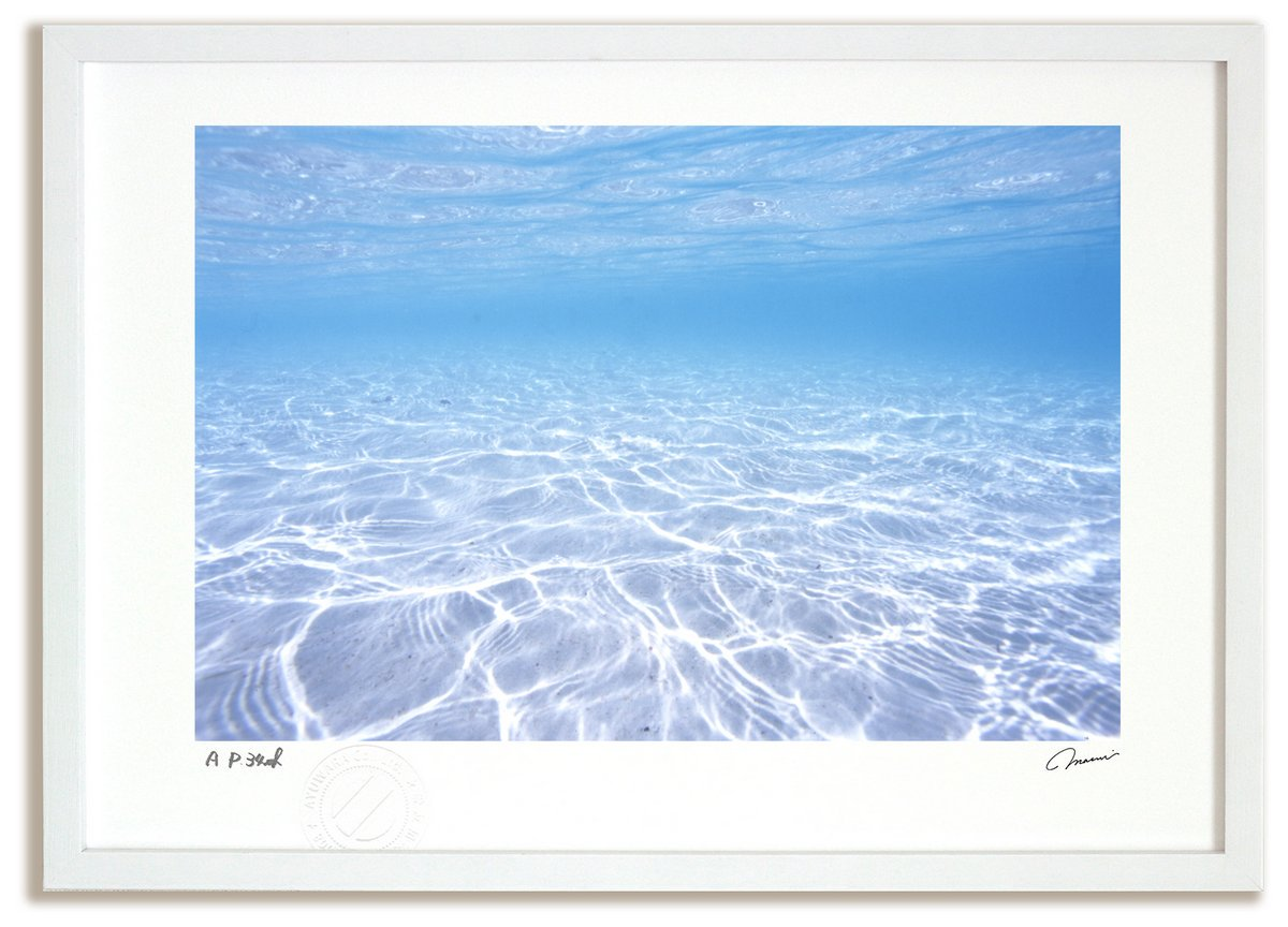 風景写真 ニューカレドニア透明な海